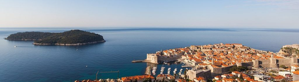 Dubrovnik is the most popular Croatian city in the world