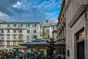 Split - biggest city on Croatian coast and second best touristic place after Dubrovnik
